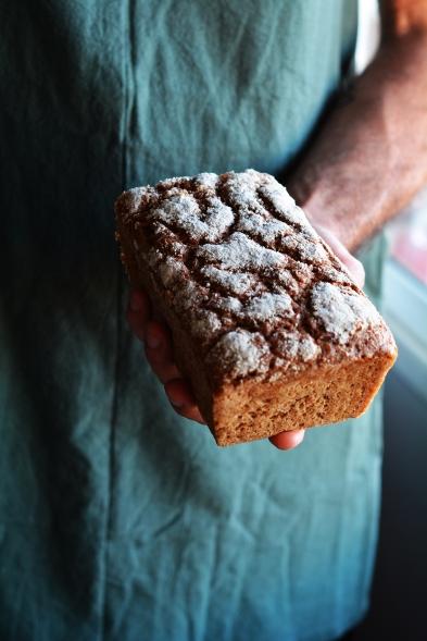 Pan de centeno masa madre